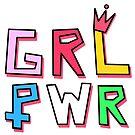 «GRL PWR» de EuGeniaArt