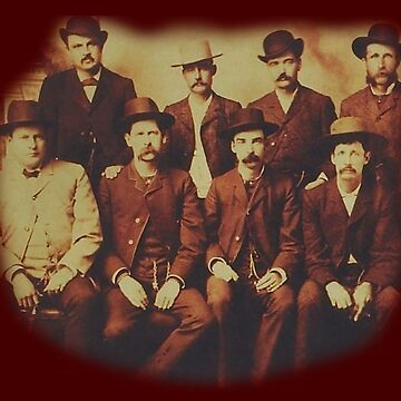 COWBOYS, Dodge City, Peace Commission, Wyatt Earp, and others, Wild West by TOMSREDBUBBLE