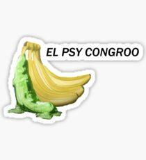 El Psy Congroo Sticker