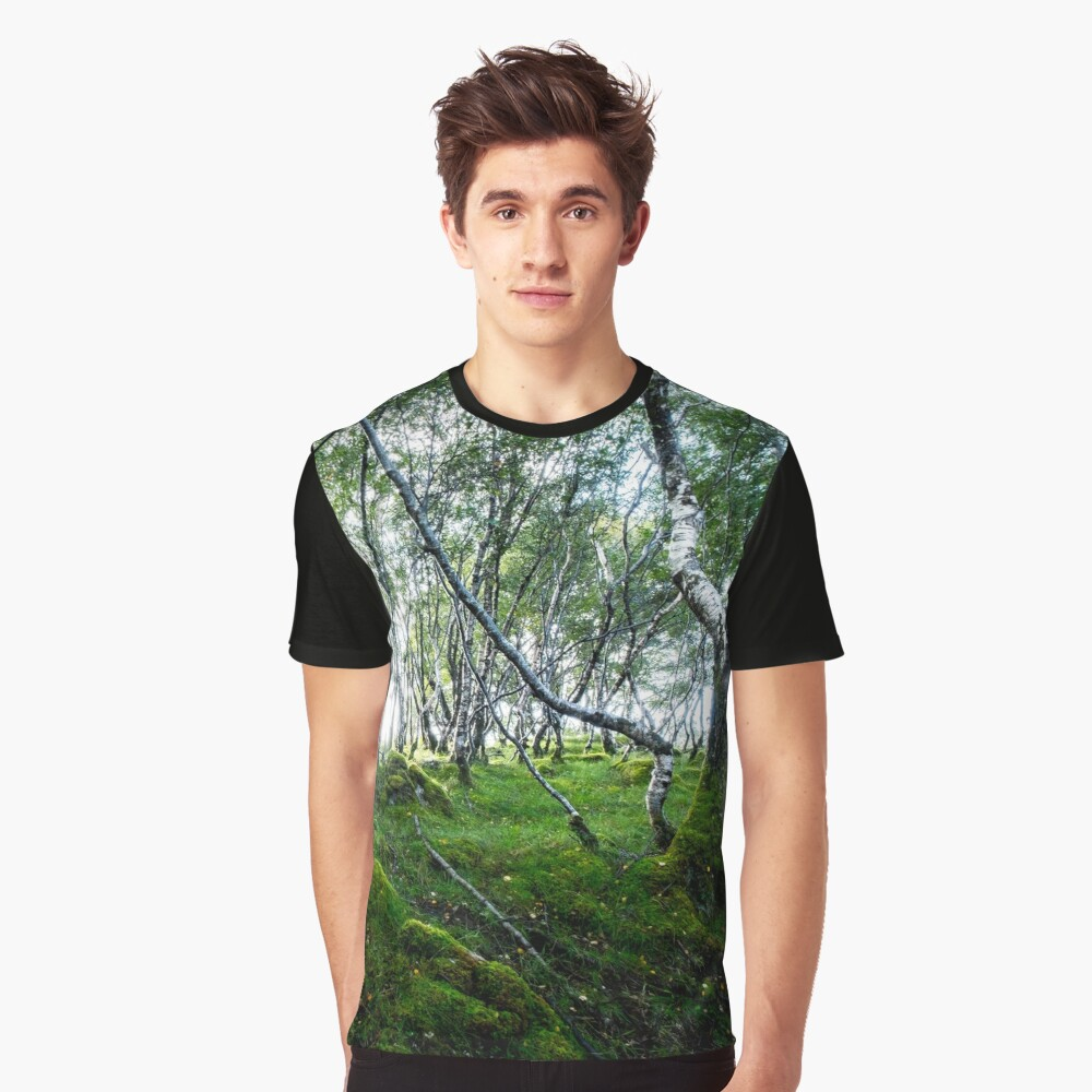 T-shirt graphique « Green Forest»