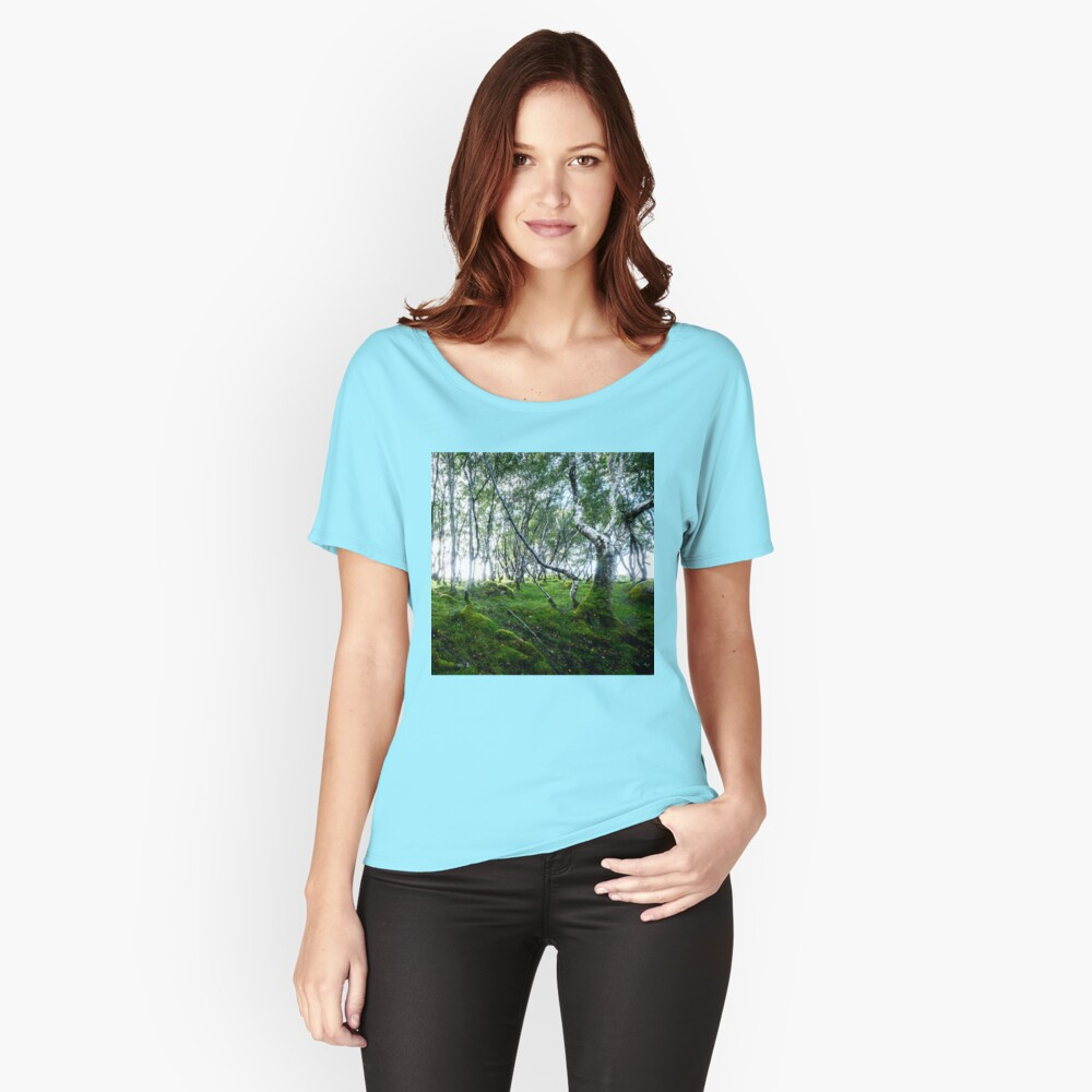 T-shirt coupe relax «Green Forest»