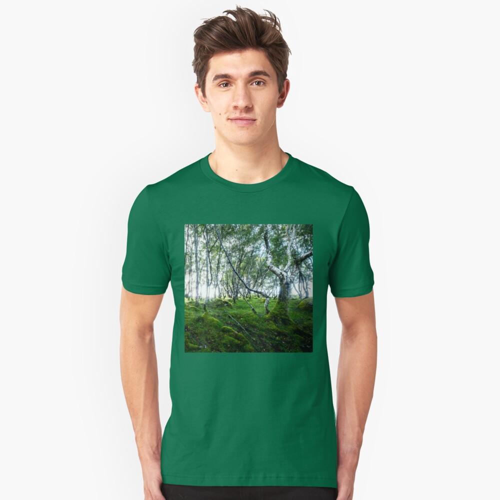 T-shirt ajusté «Green Forest»