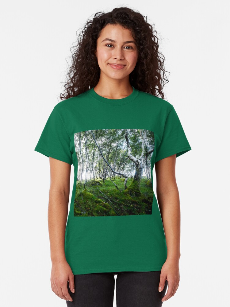 T-shirt classique ''Green Forest': autre vue
