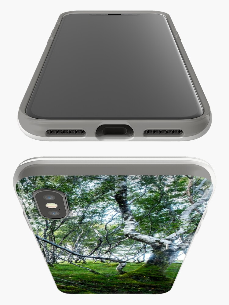 Coque iPhone ''Green Forest' : autre vue