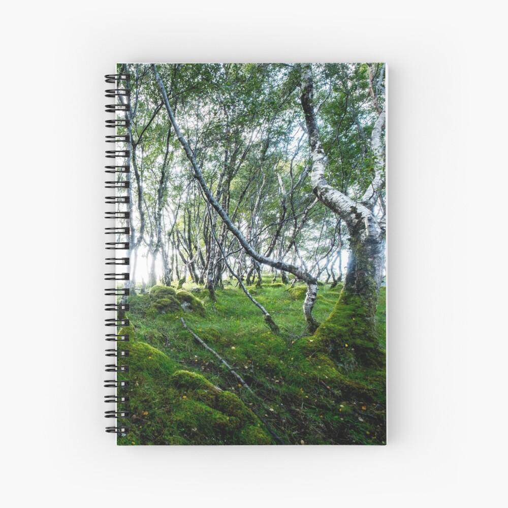 Cahier à spirale «Green Forest»