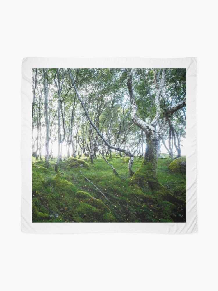 Foulard ''Green Forest': autre vue