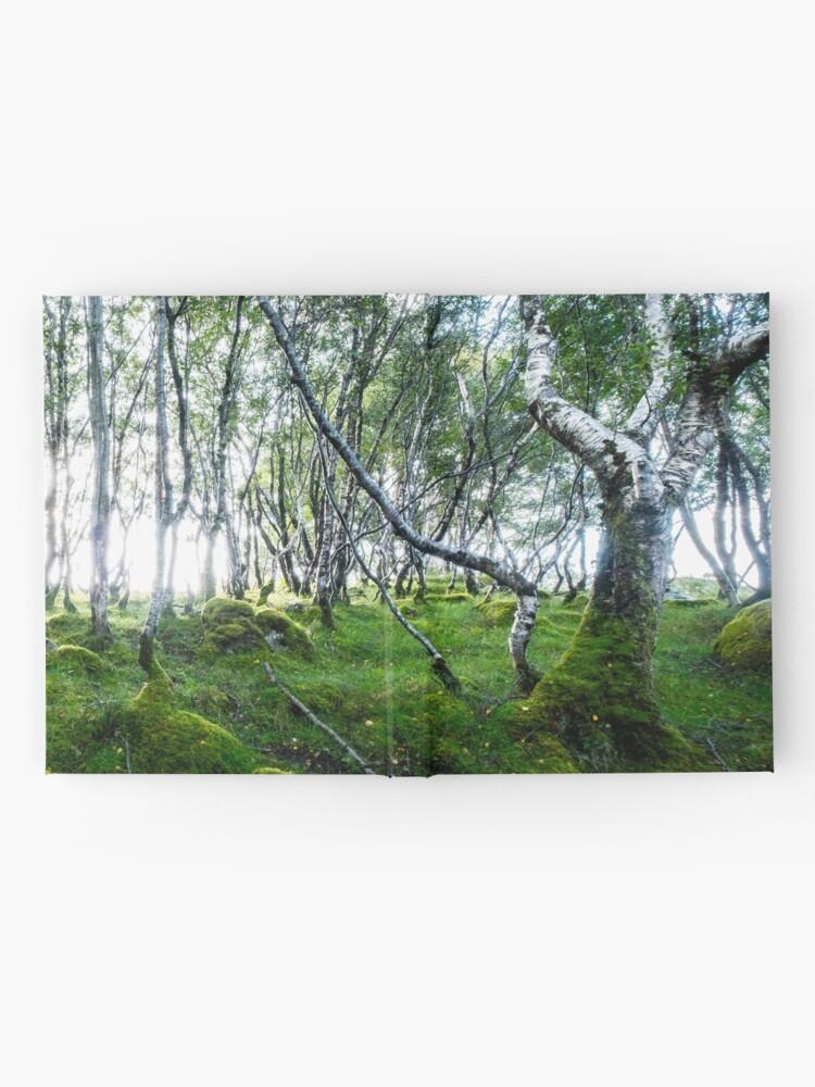 Carnet cartonné ''Green Forest': autre vue