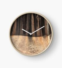 Stains and Shadows Clock