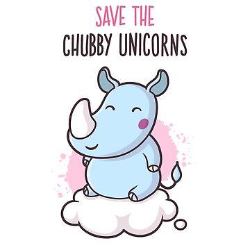 Save The Chubby Unicorns by zoljo