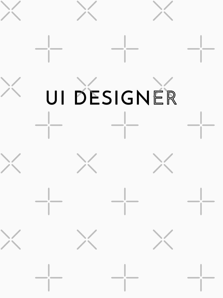 UI Designer (Inverted) by developer-gifts