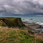 Storm Clouds off Kaikoura 1 by Werner Padarin