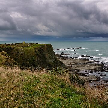 Storm Clouds off Kaikoura 1 by fotoWerner