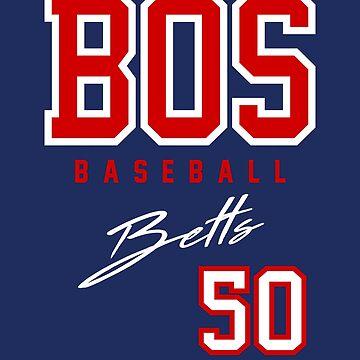 Boston Baseball, Betts by BonafideIcon