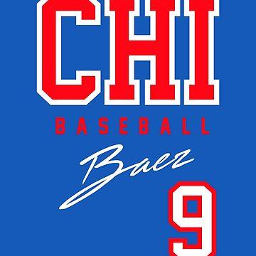 Chicago Baseball, Baez by BonafideIcon