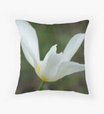 Inishowen Flora - White Throw Pillow