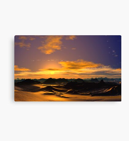 Sunrise Symphony Canvas Print