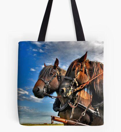 Belgian Horses Tote Bag