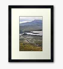 The path to the Old Man of Storr, Isle of Skye Framed Print