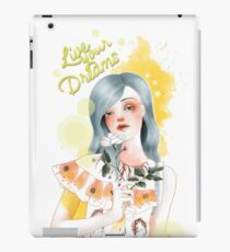 Live your dreams iPad Case/Skin