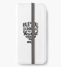 Bible Verses - But You Lord are A Shield Around Me - Psalms 3:3 iPhone Wallet/Case/Skin