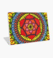 Floral Mandala - Red Rose Laptop Skin