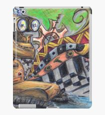 The Robot and the Bee iPad Case/Skin