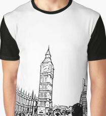 Big Ben Tourist in The City Graphic T-Shirt