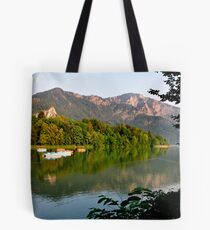 Tranquil Afternoon at Lake Kochelsee Germany Tote Bag
