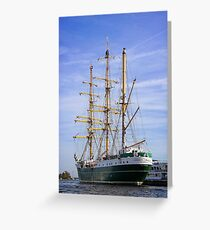 Amsterdam Harbour Greeting Card