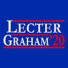 Fannibals Vote for Lecter & Graham 2020 by electrovista