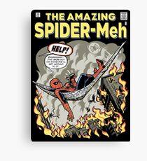 Spider-Meh Canvas Print