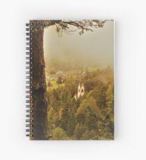 Mountain Church Spiral Notebook
