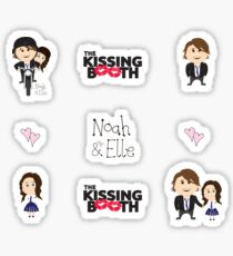 Kissing Booth - Noah and elle Sticker