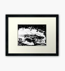 AREA 51 STAR CRUISER Framed Print