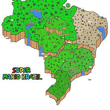 Super Mario Brazil by Rodmarck
