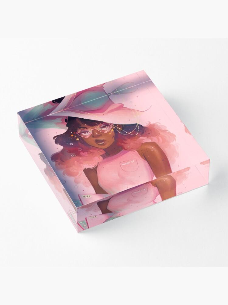 Alternate view of Magic AF Acrylic Block