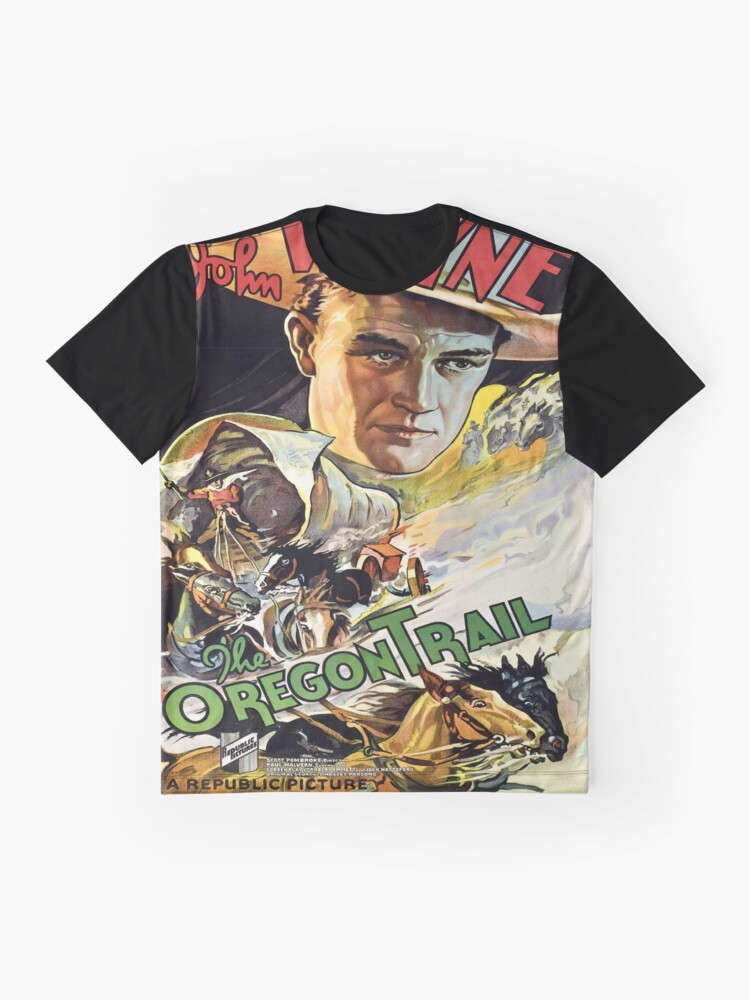 Alternate view of Vintage poster - The Oregon Trail Graphic T-Shirt