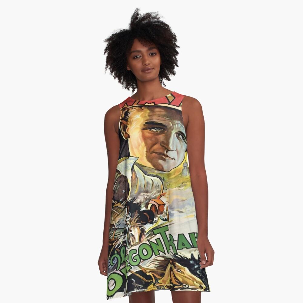 Vintage poster - The Oregon Trail A-Line Dress