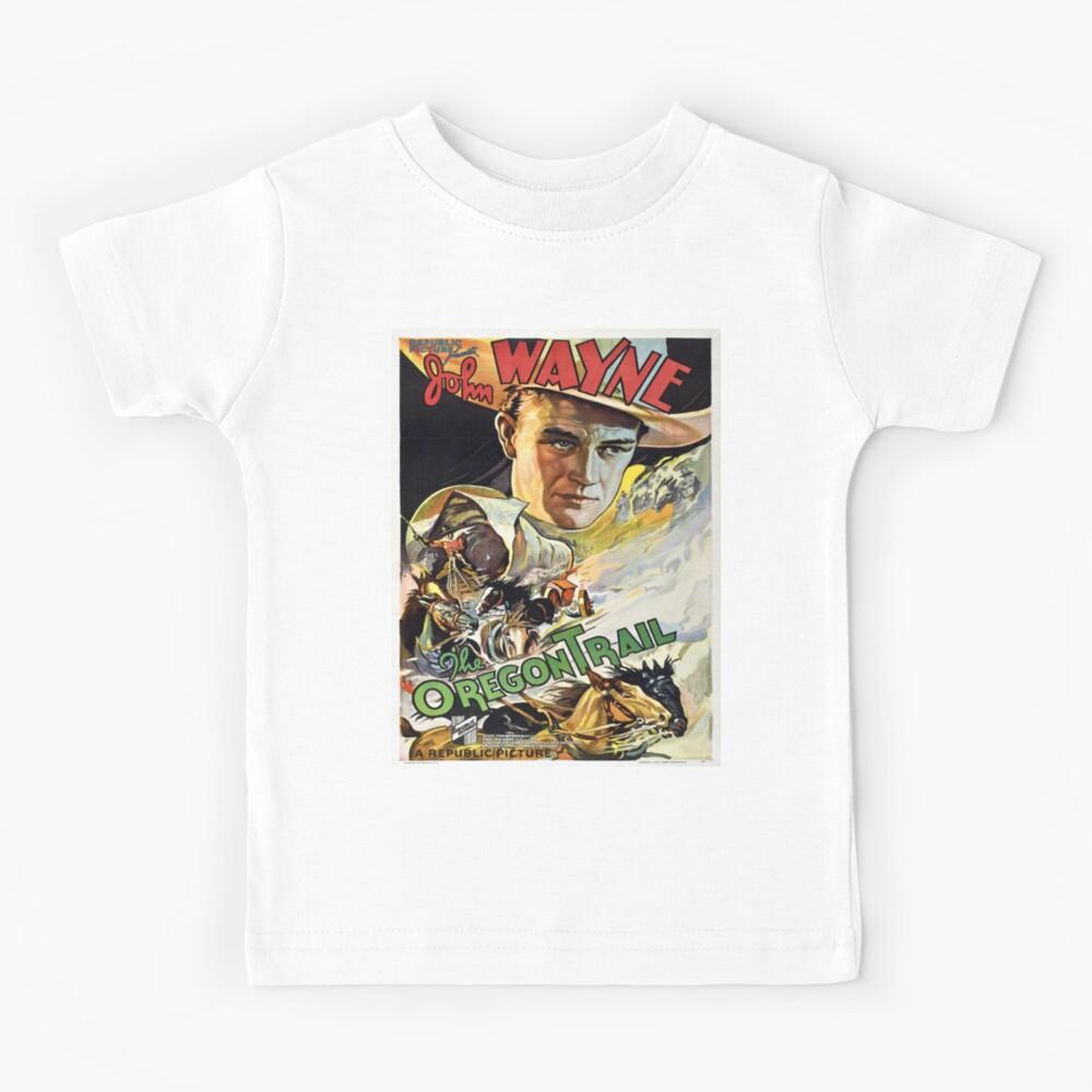 Vintage poster - The Oregon Trail Kids T-Shirt