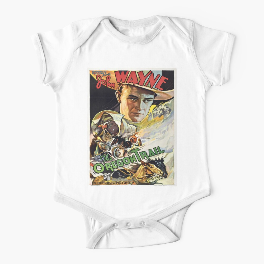 Vintage poster - The Oregon Trail Baby One-Piece