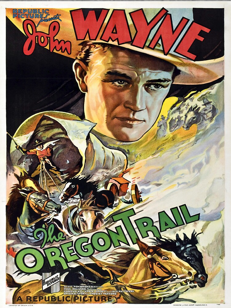 Vintage poster - The Oregon Trail by mosfunky