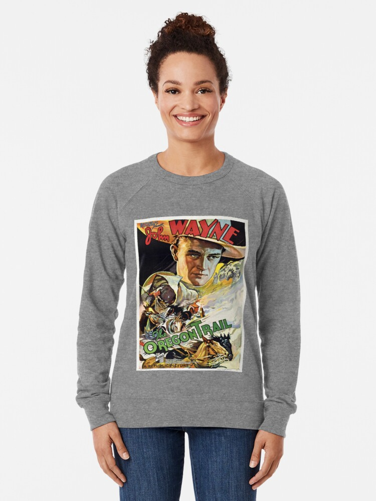 Alternate view of Vintage poster - The Oregon Trail Lightweight Sweatshirt