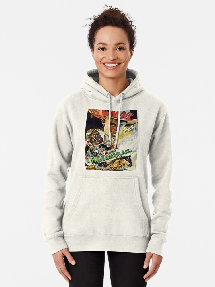Alternate view of Vintage poster - The Oregon Trail Pullover Hoodie