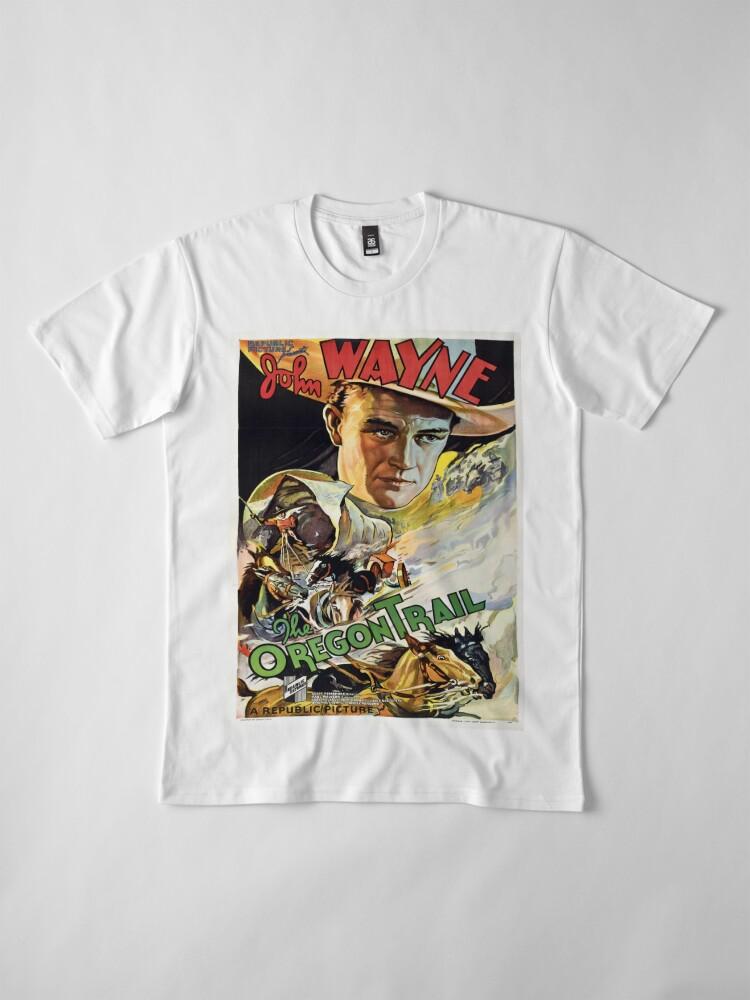 Alternate view of Vintage poster - The Oregon Trail Premium T-Shirt