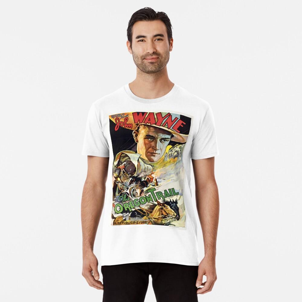 Vintage poster - The Oregon Trail Premium T-Shirt