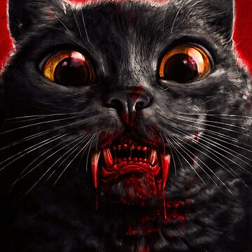 Vampire Cat by samRAW08