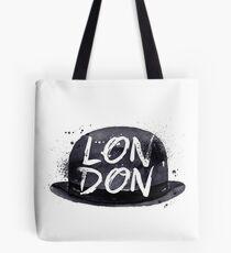 London Hat Tote Bag