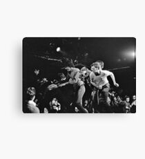 Stage Diving At The Channel, 1981 Canvas Print