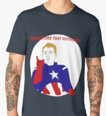 Captain America I understood that reference Men's Premium T-Shirt