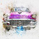 Watercolor car by BlackDevil